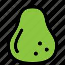food, fresh, fruit, healthy, pear icon