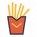 burger, food, fried, fries, takeaway icon