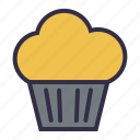 cake, dessert, fastfood, food, party icon