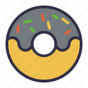 bagel, bakery, dessert, donut, doughnut
