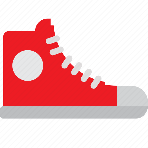 canvas, foot, footwear, high, shoes, sneakers icon