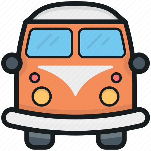 autobus, bus, coach, school bus, transport icon