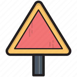 road sign, road signboard, signage, street sign, traffic sign icon