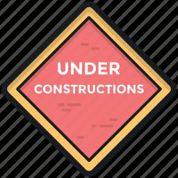 building, construction, reconstruction, under constructions, under maintenance icon