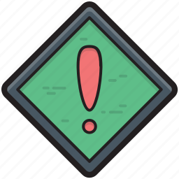 attention, exclamation, exclamation mark, punctuation, warning icon
