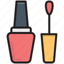 cosmetic, nail beauty, nail paint, nail polish, nail varnish icon