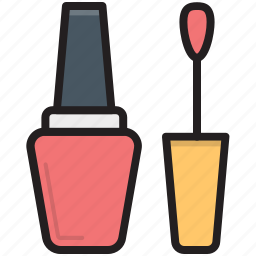 cosmetic, nail beauty, nail paint, nail polish, nail varnish icon