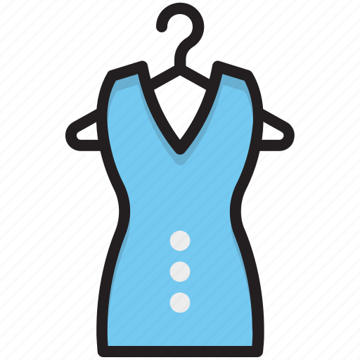 blouse, cami top, clothing, garments, woman dress icon