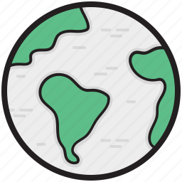 globe, map, map globe, planet, world map icon