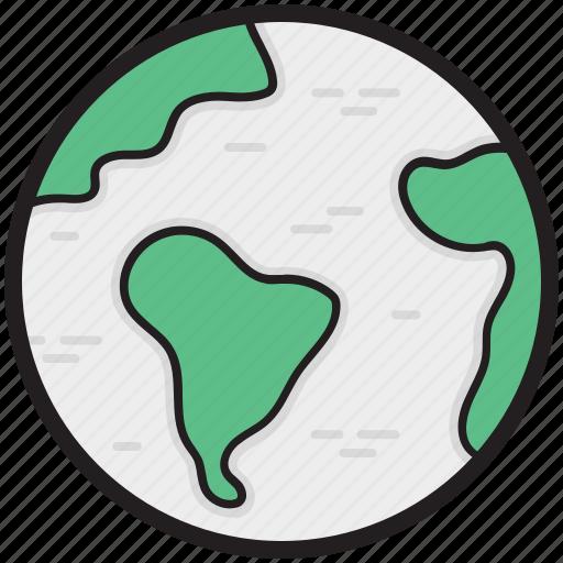 globe, map, map globe, planet, world map icon