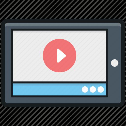 media player, mobile media, mobile phone, movie player, multimedia icon