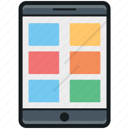 mobile interface, mobile layout, mobile menu, mobile phone, mobile ui icon