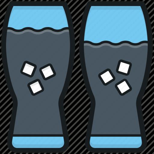 beverage, cold drink, drink glasses, refreshing drink, soft drink icon