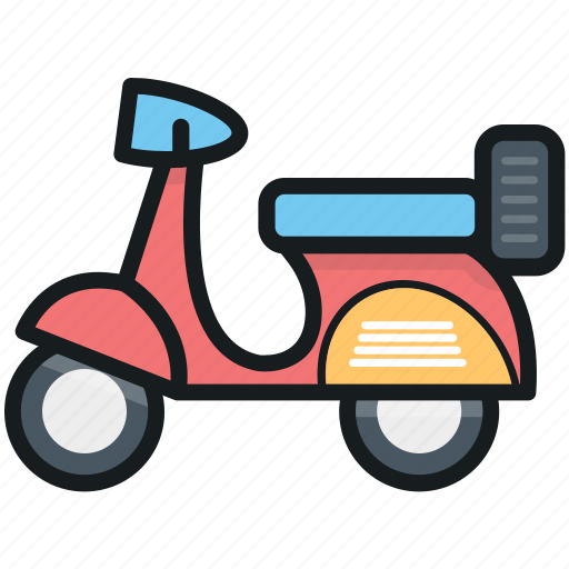 motorscooter, scooter, transport, travel, vespa icon
