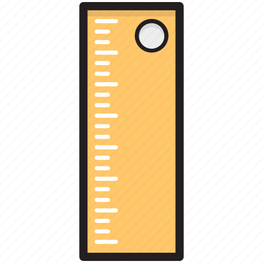 architecture ruler, geometry tool, measuring scale, measuring tool, ruler icon