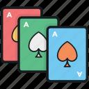gambling, casino, spade cards, playing cards, poker cards