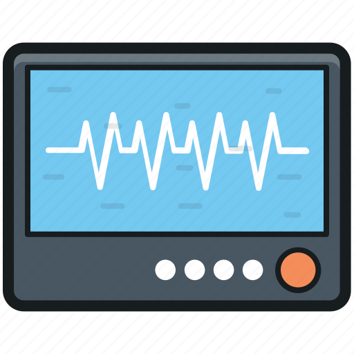 ecg, ecg device, ecg diagnostic, ecg machine, electrocardiograph icon