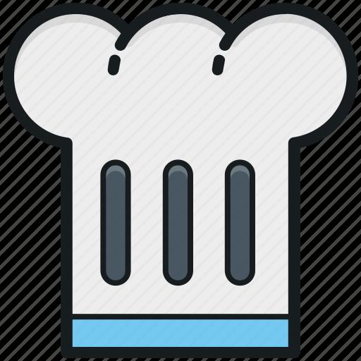 chef hat, chef revival, chef toque, chef uniform, cook hat icon