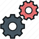 cog, cogwheel, gear, options, settings