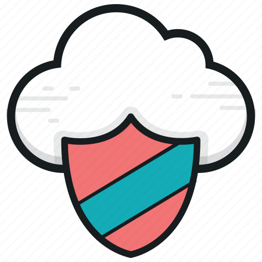cloud computing, cloud security, network security, privacy code, shield icon
