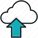 cloud computing, cloud transfer, cloud upload, data transmission, uploading