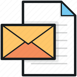 envelope, letter, letter envelope, mail, message icon