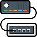 internet hub, internet modem, internet switch, modem connection, wlan