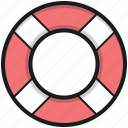 life belt, life buoy, life ring, ring buoy, safety equipment
