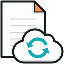 cloud computing, e docs sync, file reload, file sync, sky docs icon