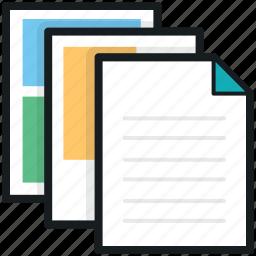 copy archives, copy documents, copy files, documents, paste files icon