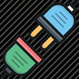 electrical plug, plug, plug connection, plug in, power plug icon