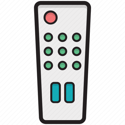 ac remote, remote, remote control, tv remote, wireless controller icon