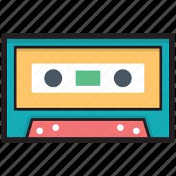 audio tape, cassette, cassette tape, compact cassette, tape icon