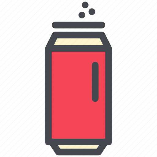beverage, can, canned, drink, soda icon
