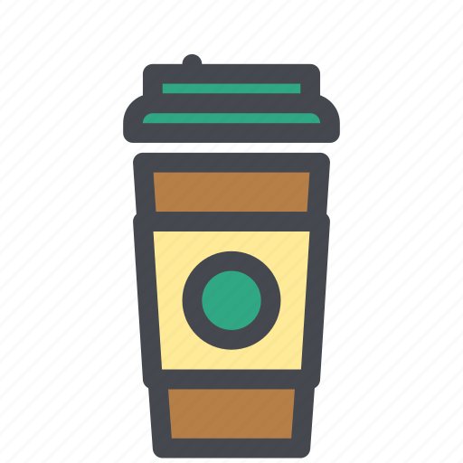 Coffee, cup, drink, latte icon - Download on Iconfinder