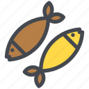 fish, food, healthy, seafood icon