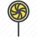 candy, confectionery, dessert, lollipop, sweet, sweets icon