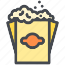 bag, food, popcorn, snack icon