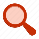 magnifier, search, zoom