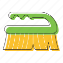 dust cleaner, duster icon