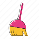 brush, mop icon