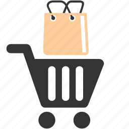 bag, business, caddy, commerce, mall, shopping icon
