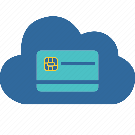 business, card, cloud, computing, credit, money, shopping icon