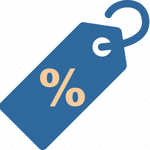 business, percent, price, promotion, sale, shopping, tag icon