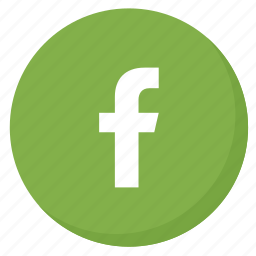circle, facebook, green, like, media, network, social icon