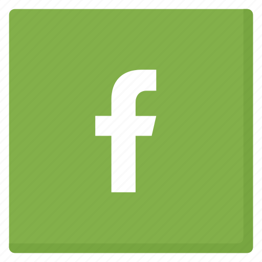 facebook, green, like, media, network, rounded, social icon