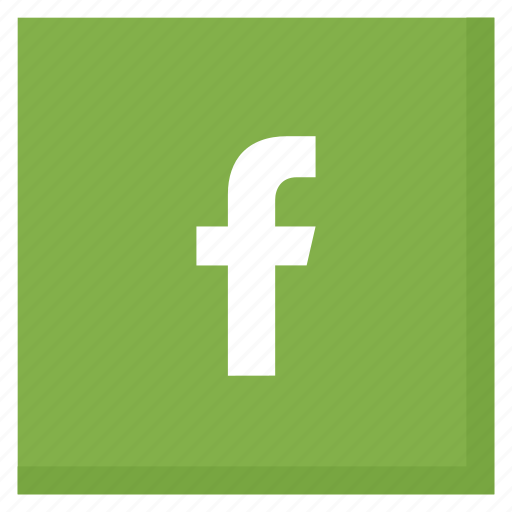 facebook, green, like, media, network, social, square icon