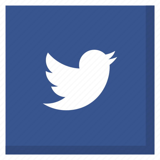 bird, darkblue, media, social, square, tweet, twitter icon