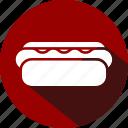 burger, dog, food, hot, sausages burger, snack icon