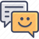 chat, letter, message icon
